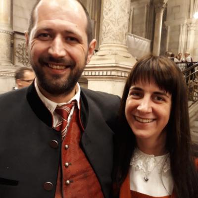 Elmar und Michaela Partner, Obsteig
