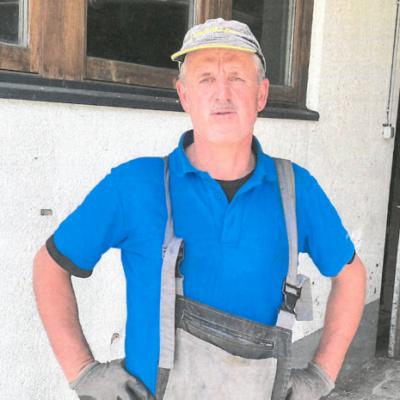 Franz Emberger, Gerlos, Landwirt