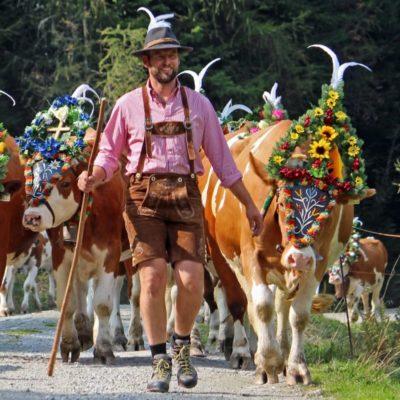Alexander Moser, Alpbach, Landwirt und Ortsbauernobmann