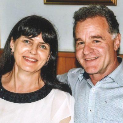 Klaus und Anni Schaffenrath, Axams, Teamleiter der Uni Innsbruck