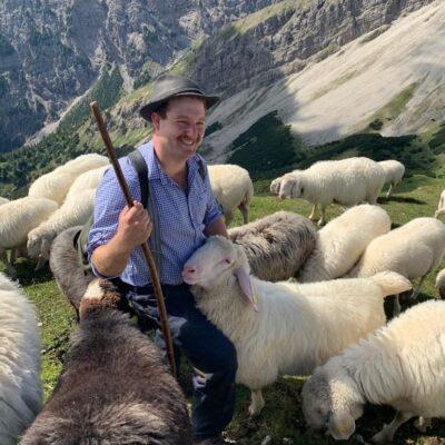 Robert Neumayer, Grasswang/Ettal, Arbeitnehmer und Schafhalter